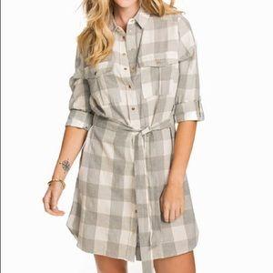 River Island Plaid Shirt Dress